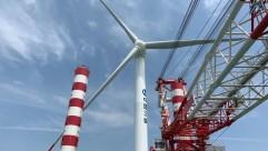 国内首台自主知识产权8MW海上风电机组安装纪实